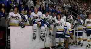 Remember the Chiefs from Slap Shot? They're behaving better than the owners.